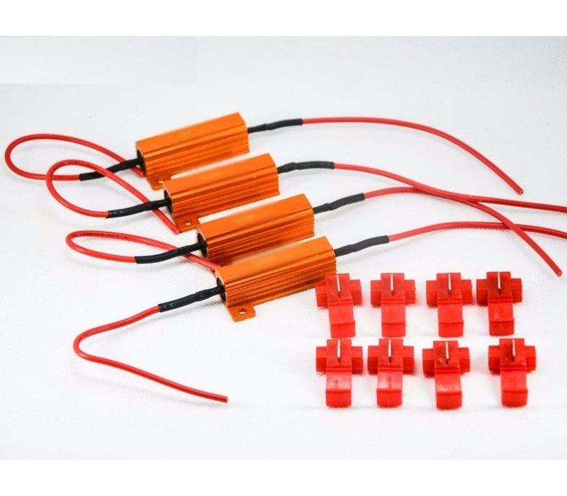 Resistors for 50W 6Ω