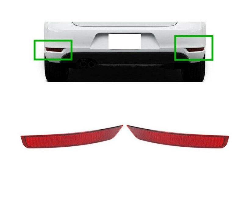 Reflectors for Volkswagen Golf 6 GTI / GTD