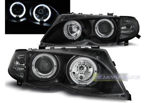 Sonar Xenon Look Koplampen met Angel Eyes voor BMW 3 Serie E46