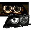 DEPO Xenon Look Koplampen met Angel Eyes voor BMW 3 Serie E46
