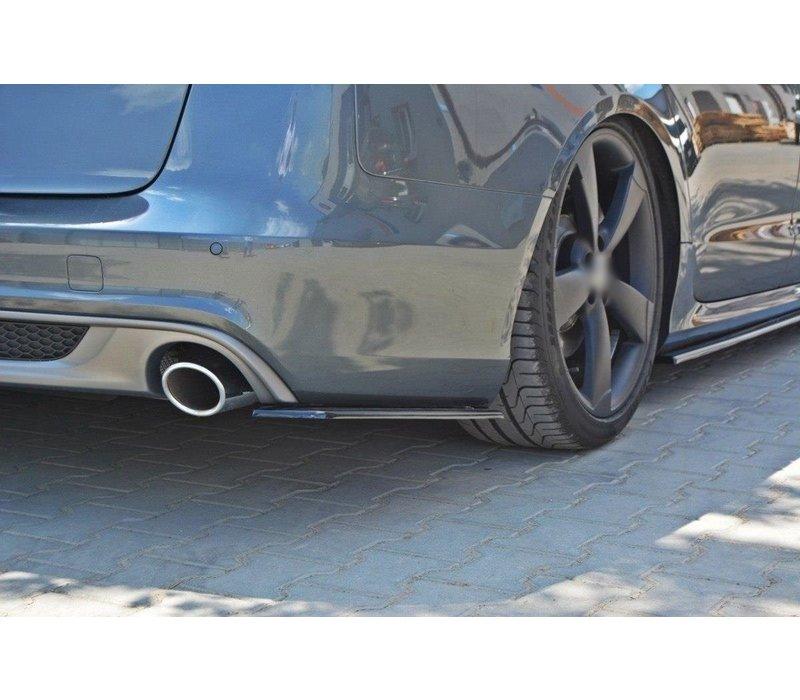 Rear splitter for Audi A6 C7 S line Avant