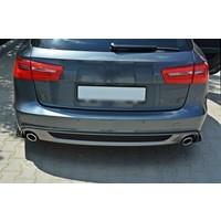 Rear splitter voor Audi A6 C7 S line Avant