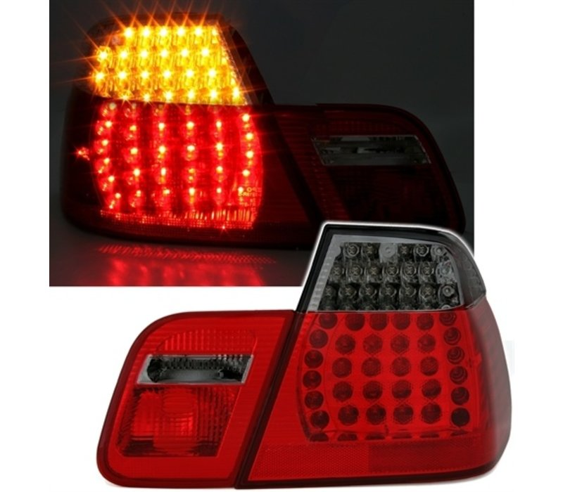 LED Tail lights for BMW 3 Series E46 Limousine