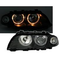 Xenon look Scheinwerfer mit Angel Eyes für BMW 3 Serie E46