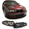 OEM LINE® Xenon Look Koplampen met Angel Eyes voor BMW 3 Serie E46