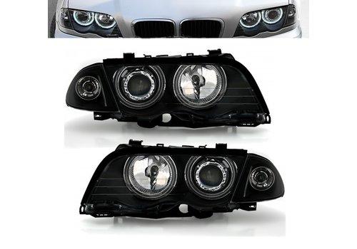 Eagle Eyes Xenon look Scheinwerfer mit CCFL Angel Eyes für BMW 3 Serie E46