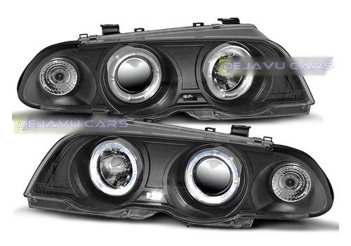 Eagle Eyes Xenon look Scheinwerfer mit Angel Eyes für BMW 3 Serie E46