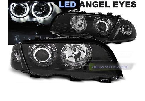 Eagle Eyes Xenon look Scheinwerfer mit LED Angel Eyes für BMW 3 Serie E46