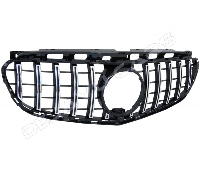 GT-R Panamericana Look Front Grill for Mercedes Benz E-Class W212