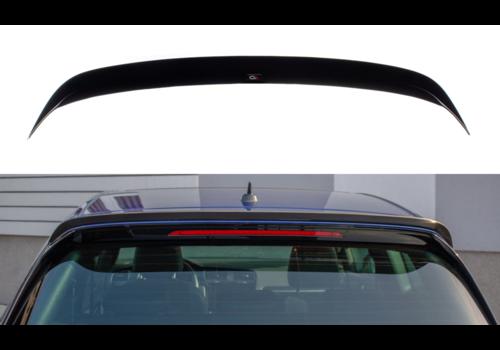 Maxton Design Dakspoiler Extension V.3 voor Volkswagen Golf 7 / 7.5 Facelift R / GTI / GTD
