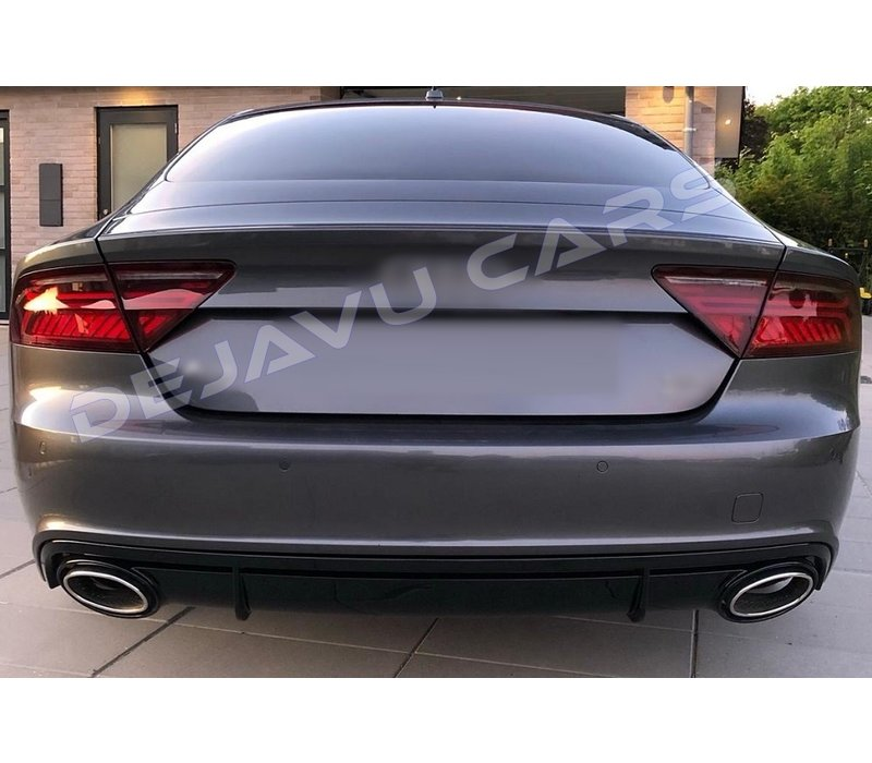 RS7 Look Diffuser for Audi A7 4G