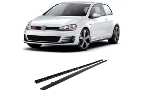 OEM LINE® GTI / GTD Look Side skirts for Volkswagen Golf 7