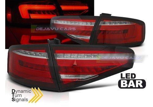 OEM LINE Facelift Look LED Dynamische Achterlichten voor Audi A4 B8.5