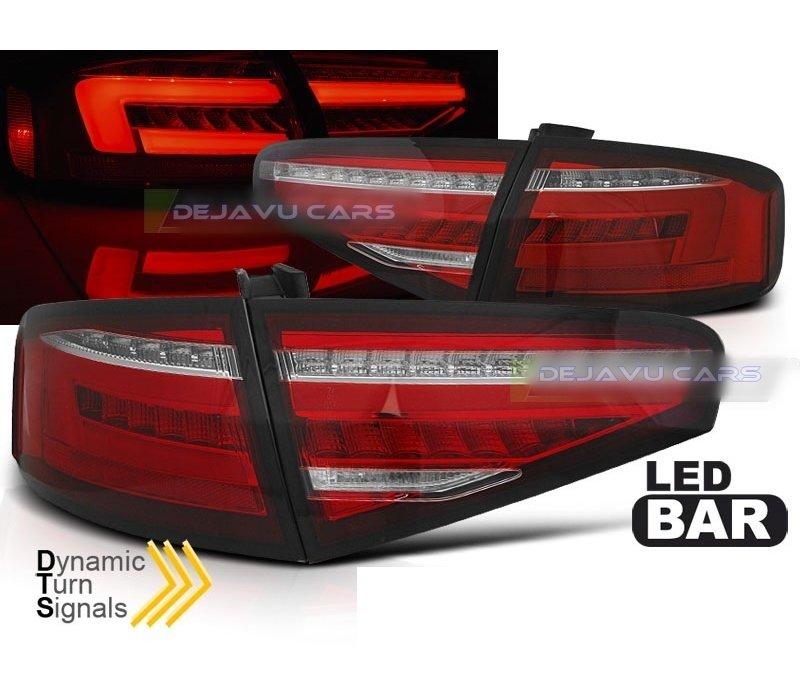 Facelift Look LED Dynamische Achterlichten voor Audi A4 B8.5
