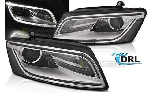 DEPO Bi Xenon Look LED Headlights for Audi Q5 8R Facelift