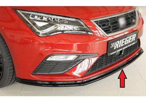 Rieger Front splitter voor Seat Leon FR (5F) / Leon Cupra (5F)