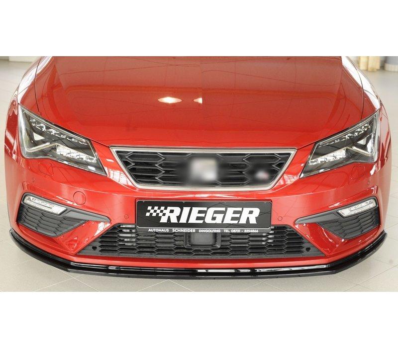 Front splitter voor Seat Leon FR (5F) / Leon Cupra (5F)
