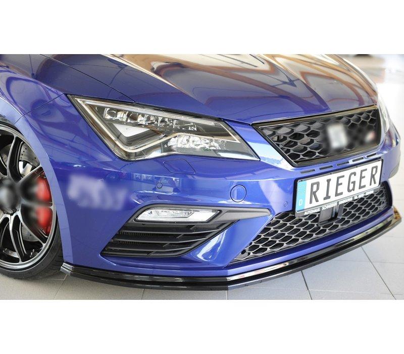 Front splitter für Seat Leon FR (5F) / Leon Cupra (5F)