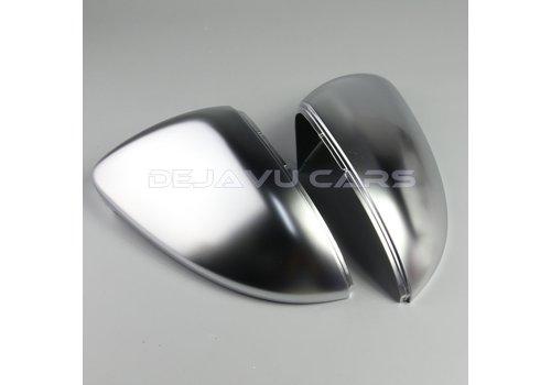 OEM LINE Matt Chrome mirror caps for Volkswagen Golf 7