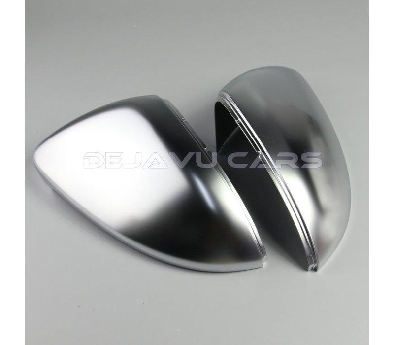 Matt Chrome spiegelkappen für Volkswagen Golf 7