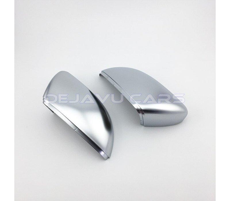 Matt Chrome spiegelkappen für Volkswagen Golf 6