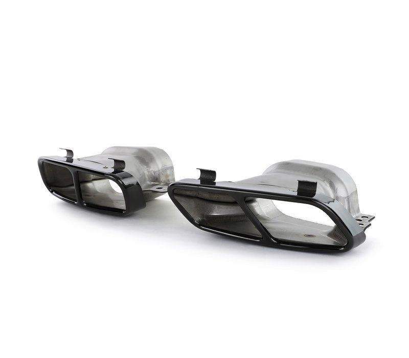 CLA45 AMG Look Exhaust tips for Mercedes Benz CLA-Class W117 / C117