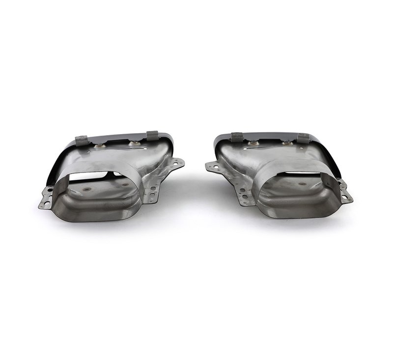 A45 AMG Look Exhaust tips for Mercedes Benz A-Class W176