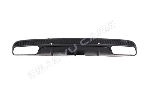 OEM LINE C63 AMG Look Diffuser for Mercedes Benz C-Class W205