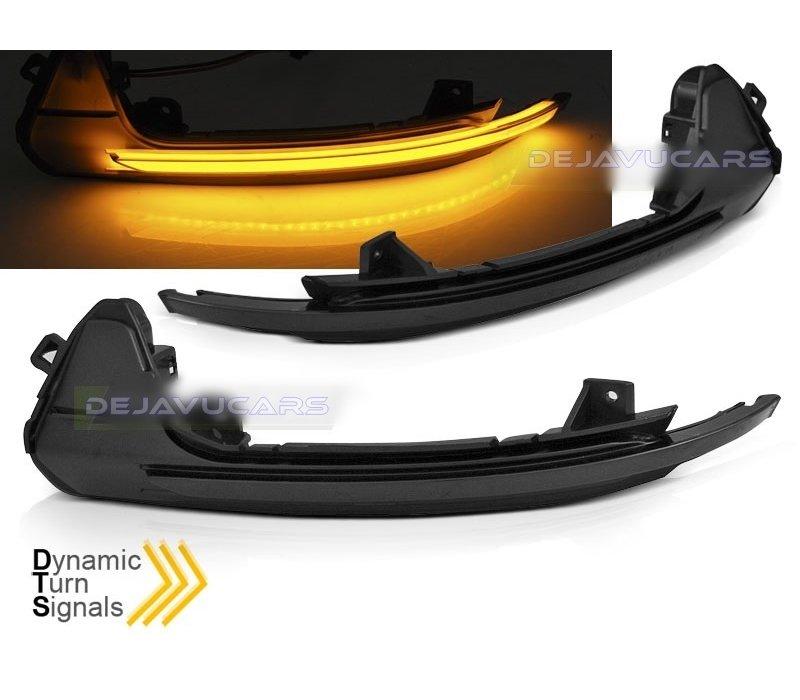 Dynamic LED Side Mirror Turn Signal for Audi A6 C7