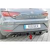 Rieger Diffuser for Seat Leon FR (5F)