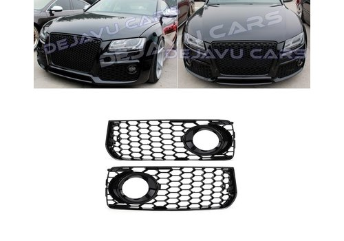 OEM LINE RS Look Fog Light Grilles for Audi A5 / S5 / S line