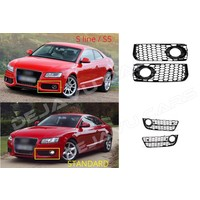 RS Look Mistlamp Roosters voor Audi A5 / S5 / S line