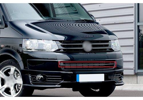 OEM LINE Front bumper chrome trim for Volkswagen Transporter T5