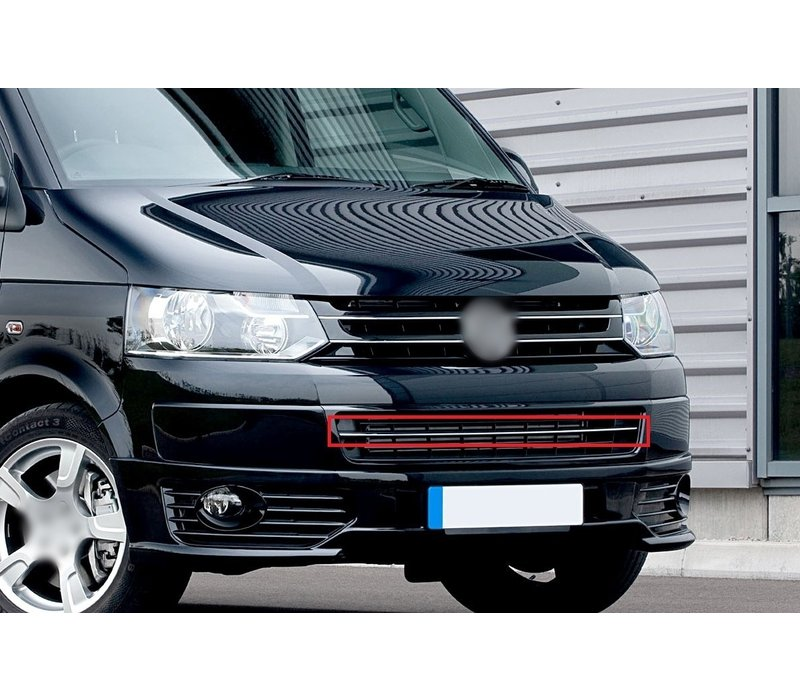 Voorbumper chrome lijst voor Volkswagen Transporter T5