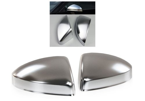 OEM LINE Matt Chrome Mirror Caps for Audi TT 8S