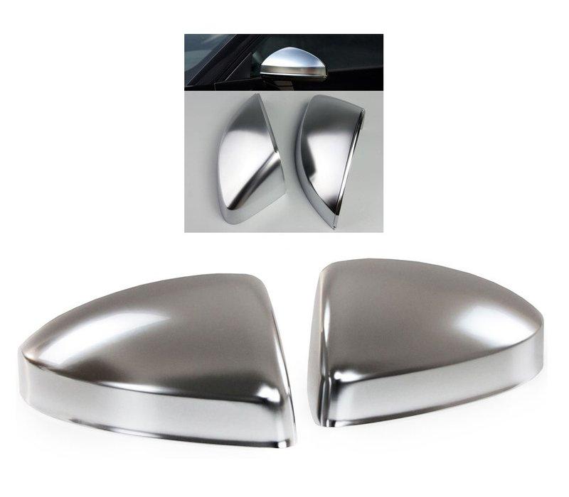 Matt Chrome Mirror Caps for Audi TT 8S