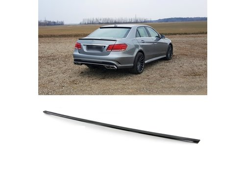 OEM LINE CARBON E63 AMG Look Tailgate spoiler lip for Mercedes Benz E-Class W212