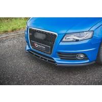 Front splitter voor Audi A4 B8 S line / S4