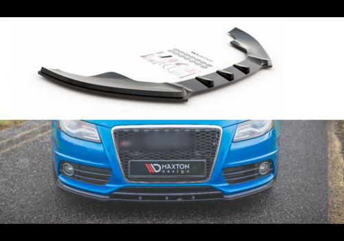Maxton Design Front splitter for Audi A4 B8 S line / S4