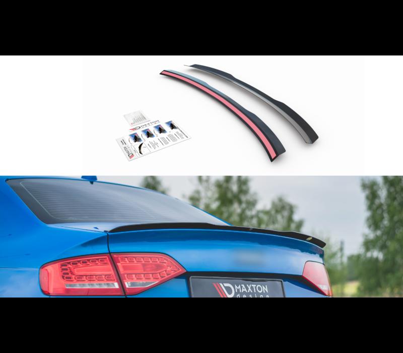 Achterklep spoiler lip voor Audi A4 B8 / B8.5 / S line