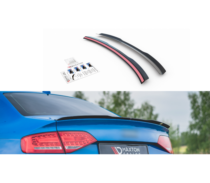 Heckspoiler lippe für Audi A4 B8 / B8.5 / S line
