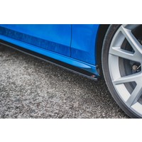 Side skirts Diffuser voor Audi A4 / S4 / S line