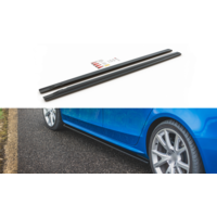 Side skirts Diffuser for Audi A4 / S4 / S line