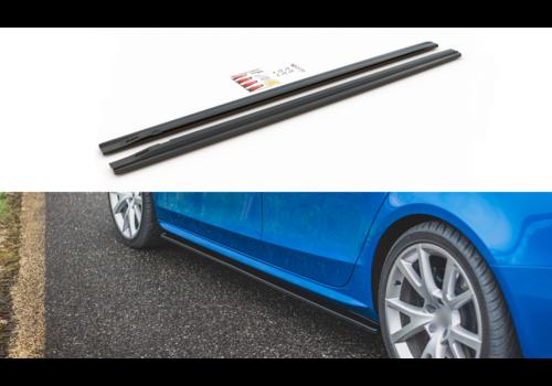 Maxton Design Seitenschweller Diffusor für Audi A4 / S4 / S line