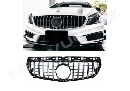 OEM LINE GT-R Panamericana Look Front Grill for Mercedes Benz A-Class W176