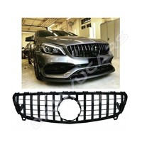 GT-R Panamericana Look Front Grill for Mercedes Benz A-Class W176 Facelift