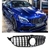 OEM LINE® GT-R Panamericana Look Front Grill  for Mercedes Benz C-Class W205