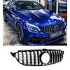 OEM LINE GT-R Panamericana Look Kühlergrill  für Mercedes Benz C-Klasse W205