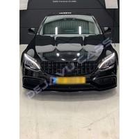 GT-R Panamericana Look Kühlergrill  für Mercedes Benz C-Klasse W205