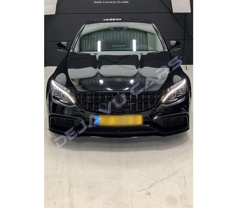 GT-R Panamericana Look Front Grill  for Mercedes Benz C-Class W205